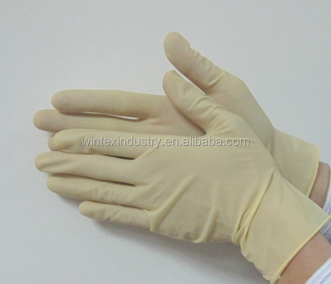 powdered latex examination gloves disposable malaysia medical non sterile