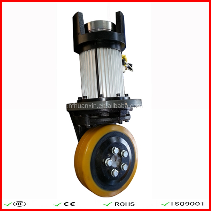 Vertical AC Motor Driving Wheel Industrial Equipment 24V 1500W 230MM/310MM