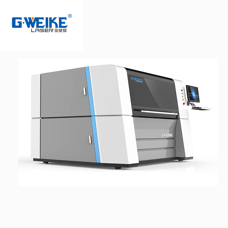 gweike CNC price 1390 fiber laser cutting machine 500-1500w 1300*900MM stainless steel, carbon steel.low price