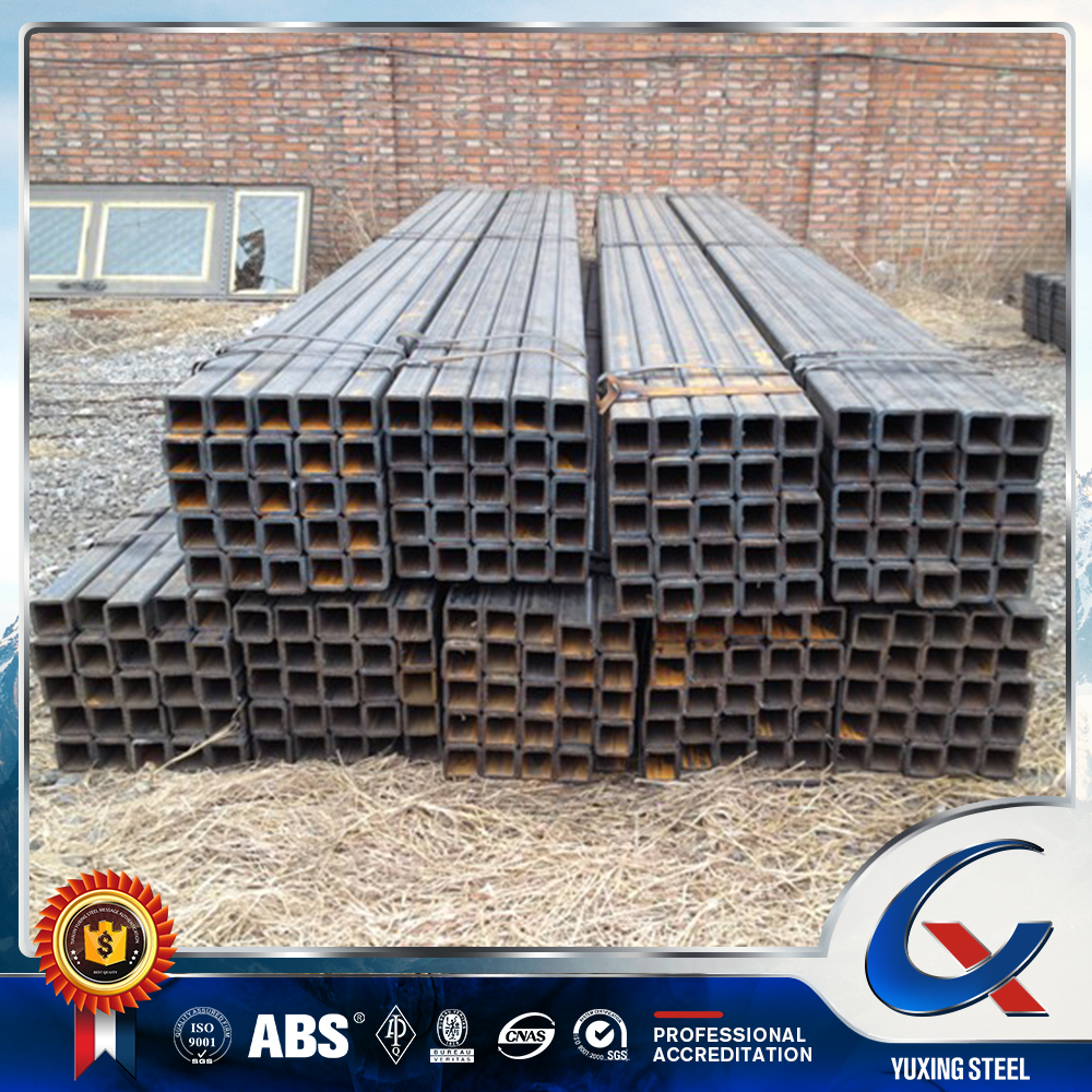 manufacturer hollow section pipe/ms square steel pipe on sale