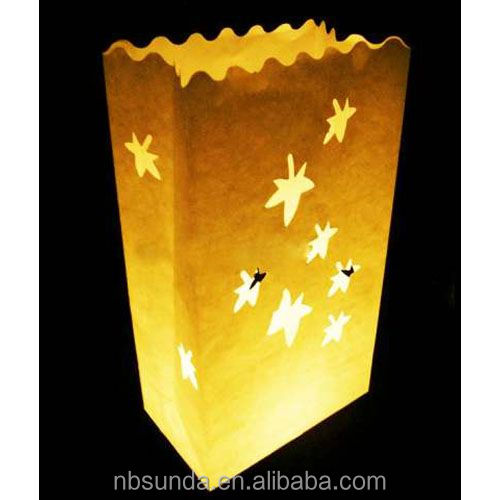 Wholesale luminary candle bags