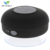 Waterproof suction cup ABS+silicon rubber portable sport bluetooth speaker