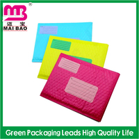 High quality tear proof quality factory wholesale custom printed black bubble mailers