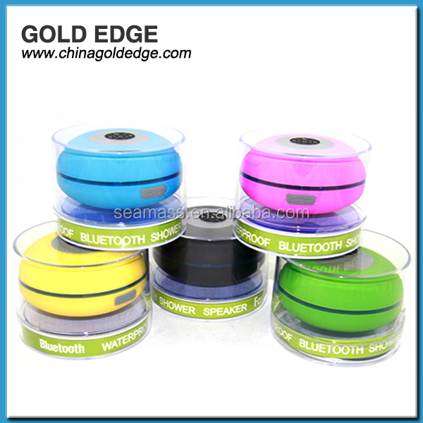 New style mini Bluetooth waterproof speaker stereo speaker in various colors