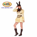 Cream Bunny Steampunk series costume (15-166) as lady carnival costumes with ARTPRO brand