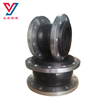 High flexible DN32-3200 flanged elastic rubber expansion joint single sphere