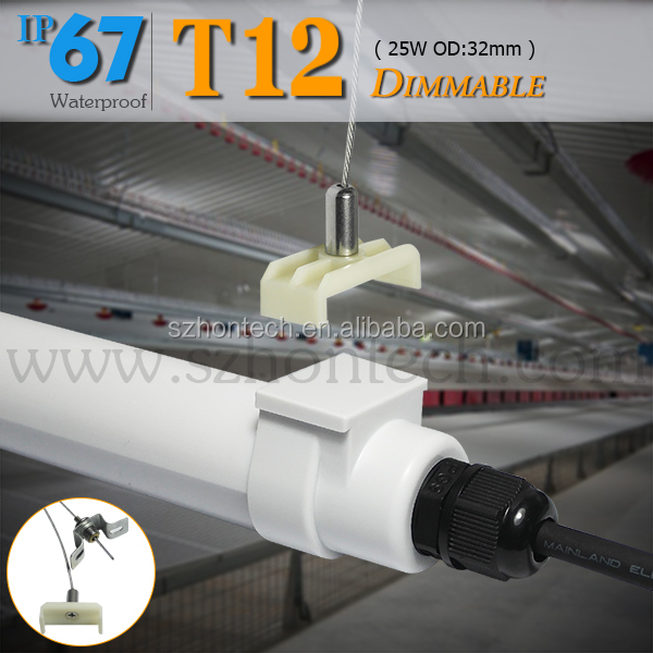 chicken farm lighting 1200mm t8 led video zoo tube 18w broiler/ layers use