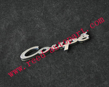 customized car badge, auto nameplate with a lower price GT R V6