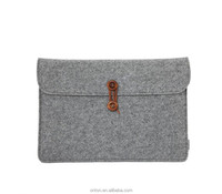 Alibaba express hot !!! cheap light grey 14 inch felt laptop sleeve from China supplier