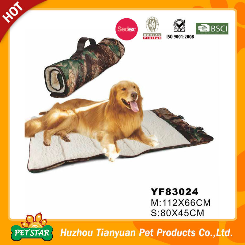 Foldable Portable Camo Travel Dog Blanket
