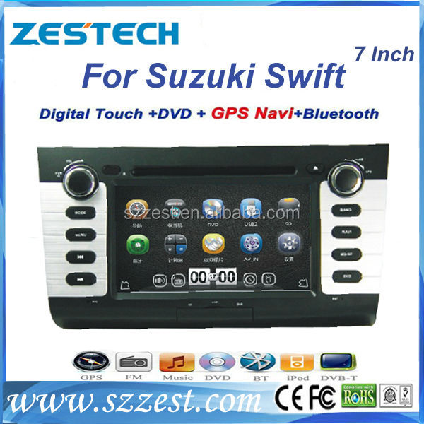 ZESTECH 2 din touch screen gps navigation for suzuki swift 2013 2014 sat nav head unit