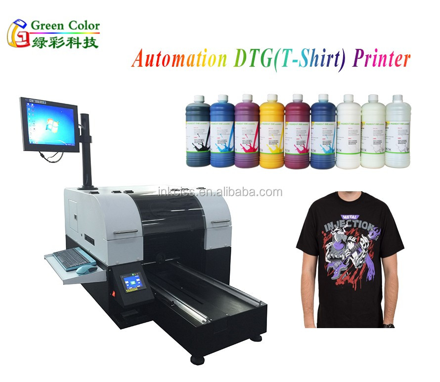 Dtg Printer A3 Textile Printing Machine Direct To Garment