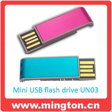 Mini usb flash for promtional gifts
