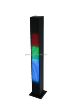 2.0 bluetooth tower speaker 2.0 tower speaker with LED flash light