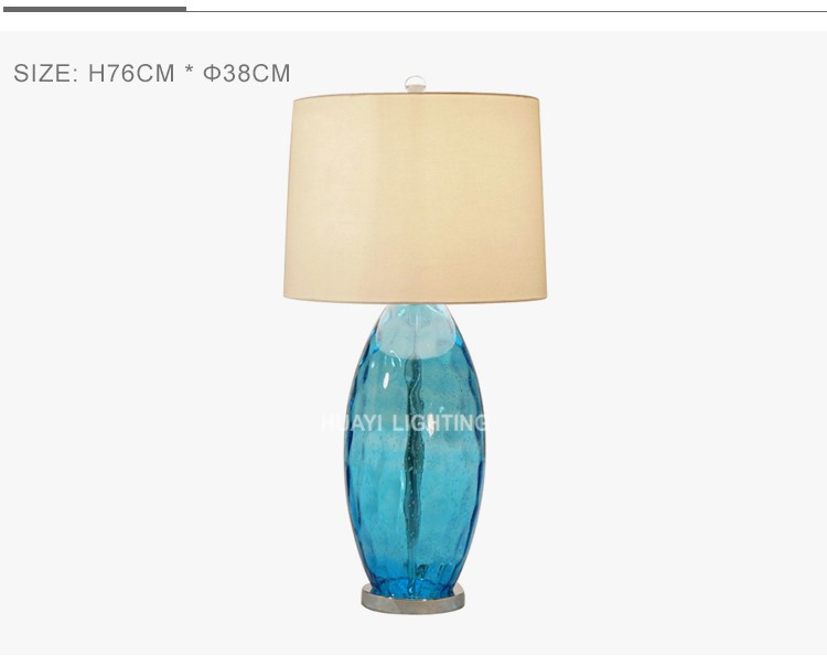 Newest lamps for home studio 50000 hours bubble glass lamp&stylish table lamps