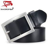 Brand Names Top Quality Fashion Cow Hide Genuine Leather Belts for men