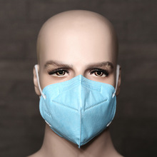 Disposable Folding Industrial Dust Face Masks with 5 Filter Layers Fabrics Anti pm2.5