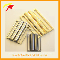 80mm fashion zinc alloy two pieces joint buckle, metal interlocking buckle for wide elastic belt