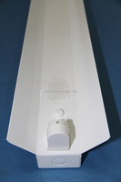 5 years Warranty UL /CUL/ DLC/ CE /PSE 4ft single fluorescent light fixture diffuser