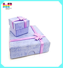 professional factory direct all type of size exquisite gift box /exquisite package paper printing