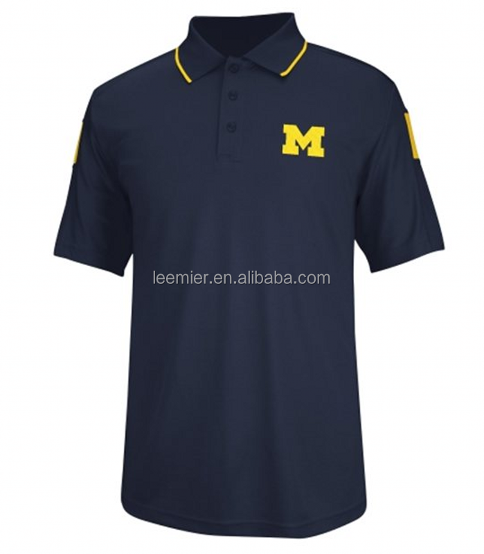 2015 Wholesale men's custom blank sports golf polo shirts