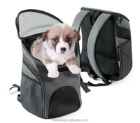 Alibaba china Custom pet carrier for dog , cat travel backpack bag/pet outside bags supplier