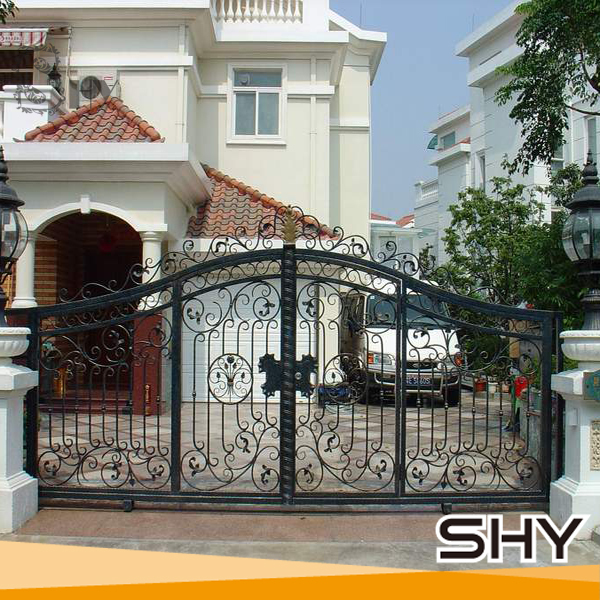 Wrought Iron Gate Grill Designs For Exterior Security Door