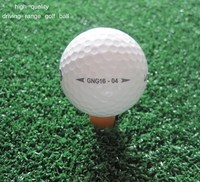 top quality 2 piece driving range golf ball in stock