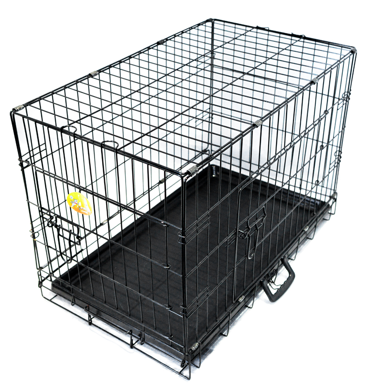 wholesale Heavy Duty Stainless Steel foldable dog cage