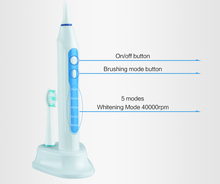 Timer sonic electric toothbrush with 3 toothbrush heads Inductive recharging Massage gum IPX7