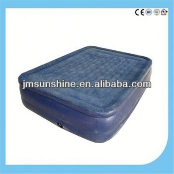 flocked inflatable bed /air bed / Indoor double inflatable bed