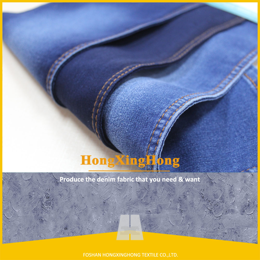 2017 Hot denim jeans fabric from China factory