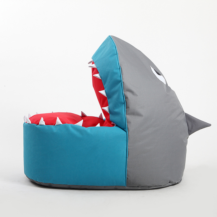 Lovely Shark Design Bean Bag Chair For Kids