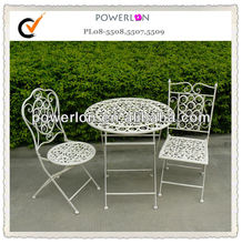 Hot Selling Classic Cheap Folding Metal Bistro Set