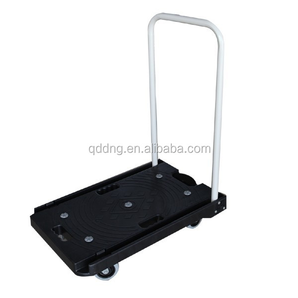 120kg heavy duty folding platform hand truck Foldable flatbed hand trolley hand cart PH1513P