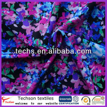 hot sale floral prints nylon spandex swimwear fabric with best price
