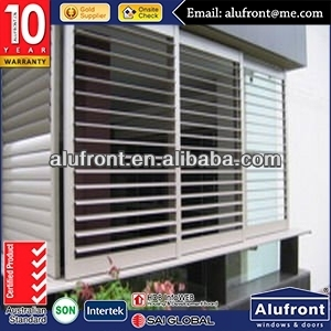 Aluminium Openable Louver Window