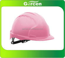 High Quality Lady Pink Safety Helmet
