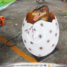 KAWAH Animatronic Dinosaur Egg Lifelike Growing Fiberglass Dinosaur Egg For Sale