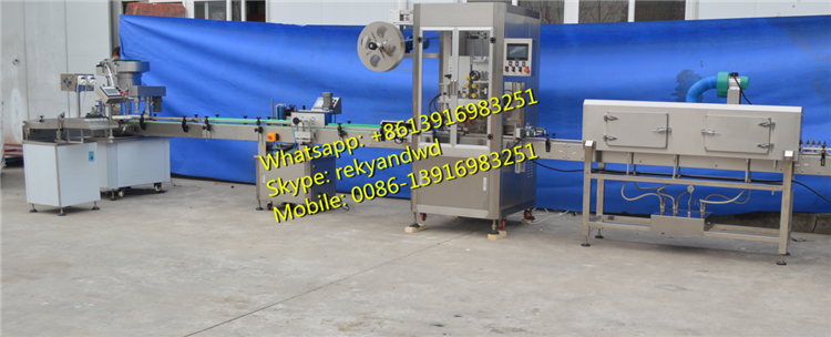 10ml 30ml e liquid eye drops filling and capping machine line
