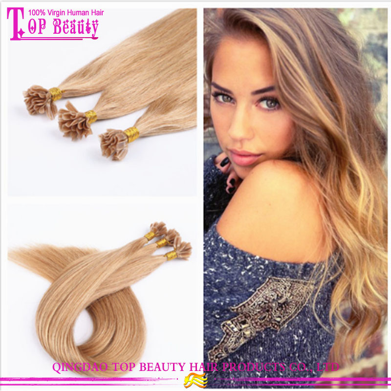 Alibaba Wholesale Remy Hight Grade Hair U-Tip Hair Extensions 1G/s 100% European Human Remy Hair
