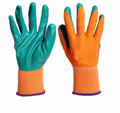 MHR China Manufacturers Oil Resistant Polyester Nitrile Gloves,2016working glove with CE