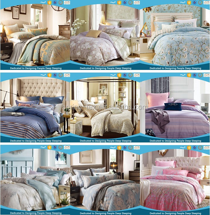 Comfortable home textile 100% cotton 4pcs bedding sets