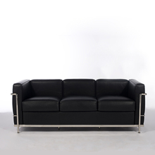 SF201 HOT SALES leather LC2 three seat Sofa by Le Corbusier