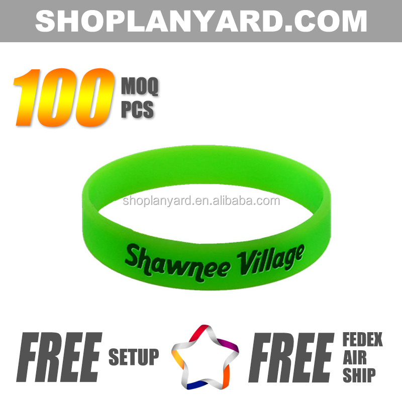 Green Elastic Rubber Bands for Event & Party