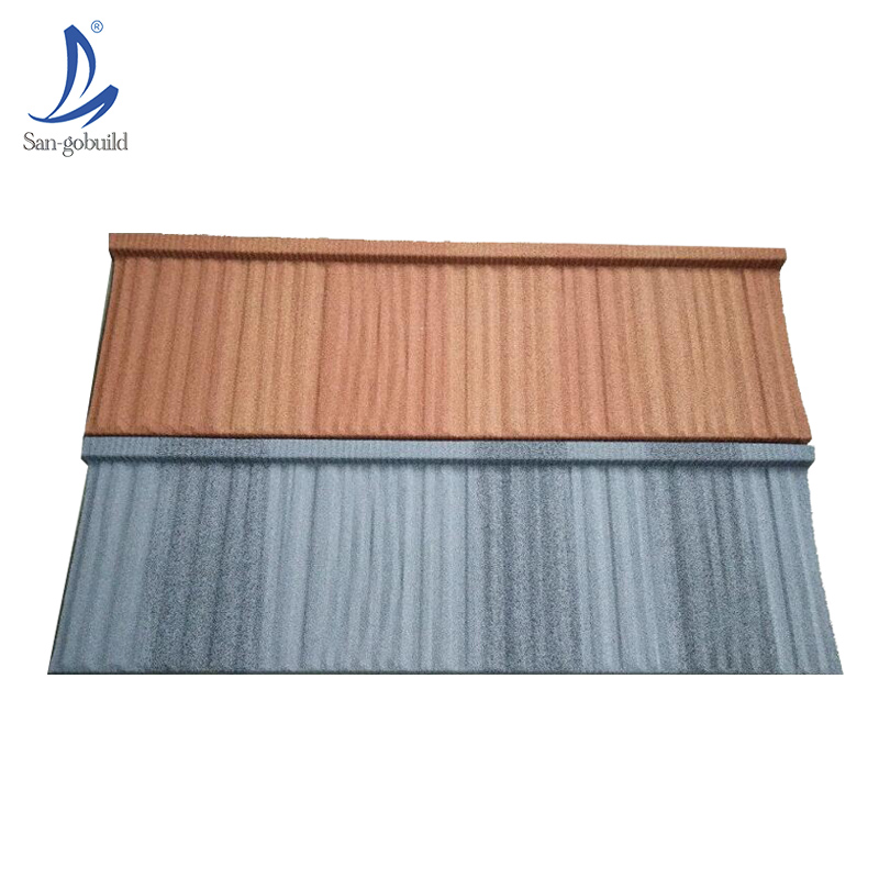 Colorful Wood Kerala Metal Shingles Prices Modern House Stone Coated Metal Roof Accessories Heat Resistance Corrugated Sheets