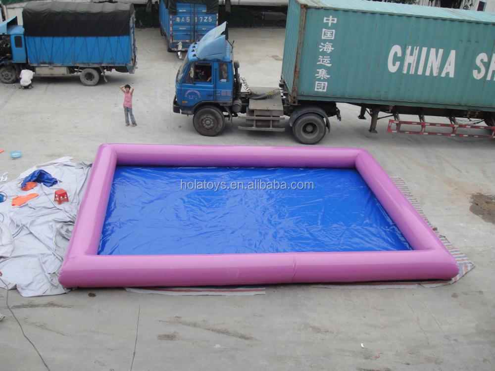 HOLA purple inflatable pools for sale/inflatable swimming pool