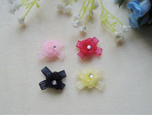 Wholesale organza rosettes for craft decoration