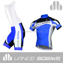 Custom lance design your own cycling cycling bib shorts cycling jersey sets