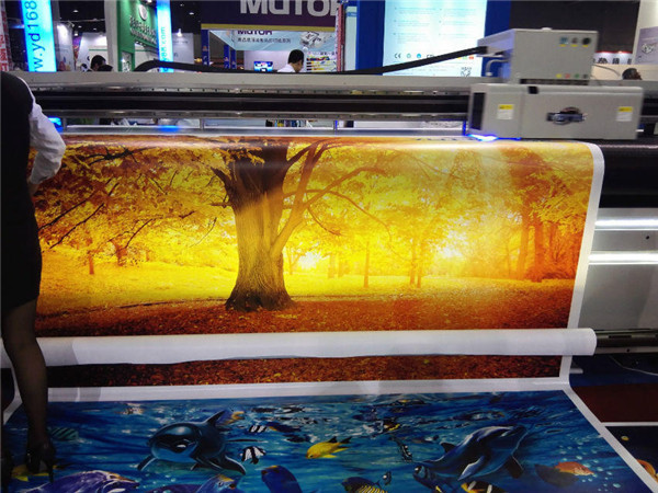 flex banner digital printing machine for sticker led lamp adverting paper plotter